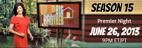 Watch Big Brother 15 Premier Night 6-26-13