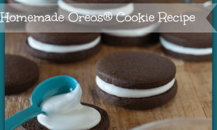 Cookbook: Classic Snacks Made from Scratch Plus Printable OREOS® Recipe