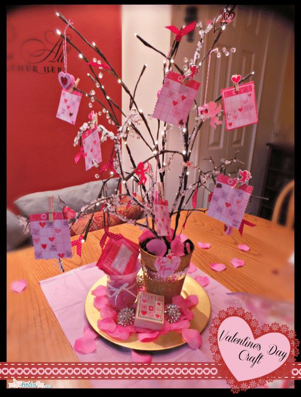 DIY Valentine's Day Tree