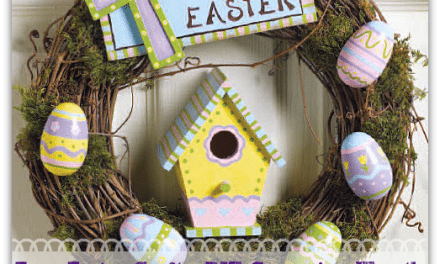Easy Easter Crafts: DIY Grapevine Wreath – Fun Kids Craft Tutorial