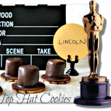 Oscar Party Ideas - Lincoln Top Hat Cookies Recipe
