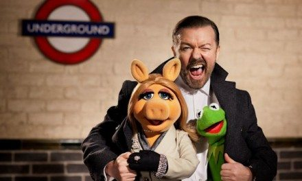 Movies: Disney MUPPETS AGAIN Stars Gervais, Fey & Burrell