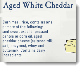 Pirates Booty Ingredients - Ingredient list