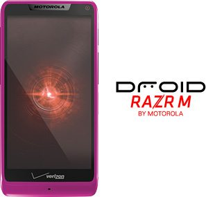 Win a pink Motorola DROID RAZR M from Verizon
