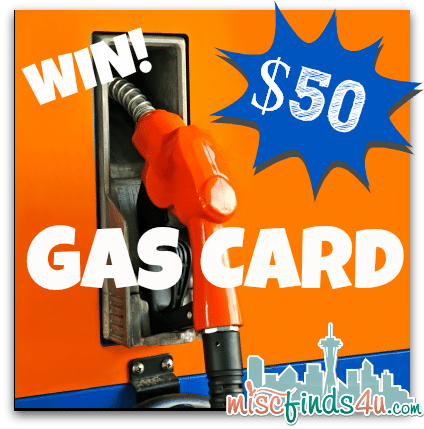 Win a $50 Gas Card from NAIC and MiscFinds4u.com - ends 2/25/13 1pm PT