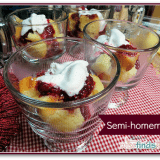 Semi-homemade Cake and Coffee Dessert