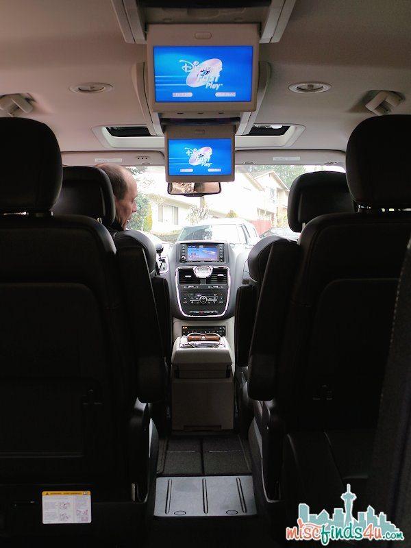 Chrysler Town & Country Minivan - Entertainment for everyone