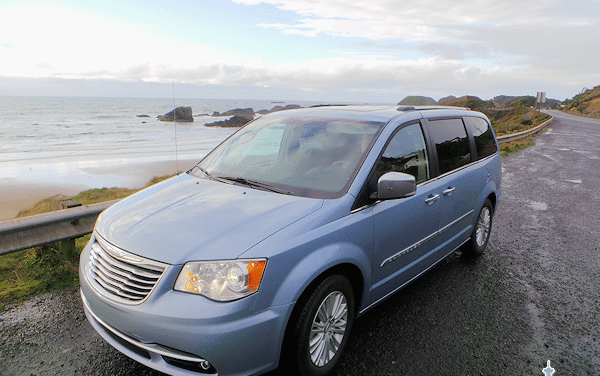 Chrysler Town and Country Minivan: Seattle to Seal Rock OR