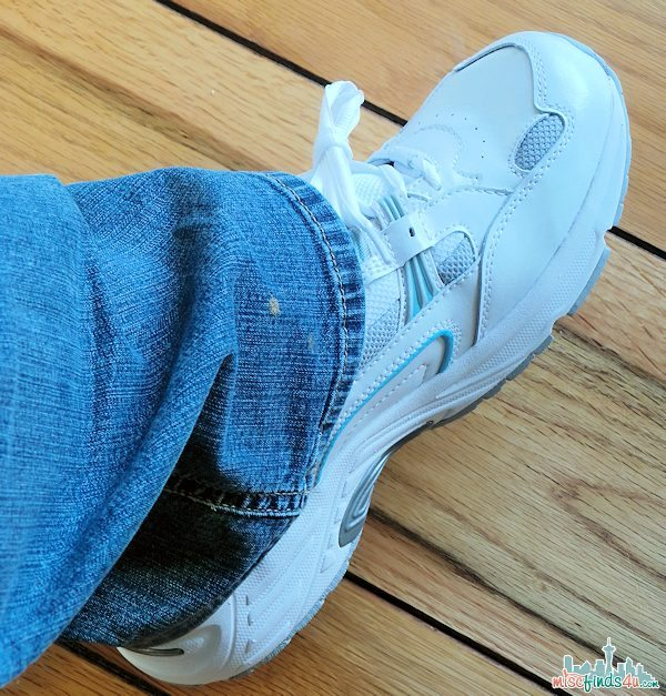 My new Orthaheel trainers - these shoes are perfect for my 28-day Walkabout!