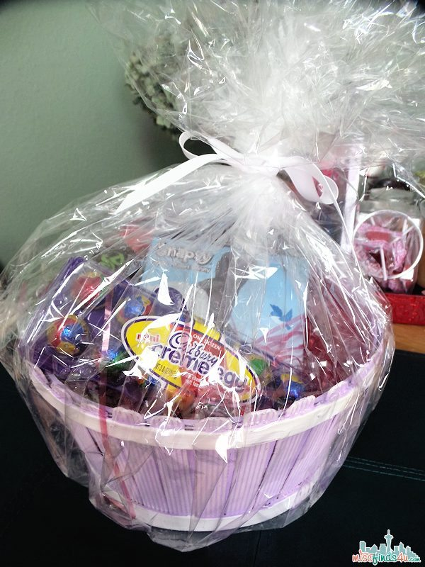 Our Hershey's Easter Basket - family size!