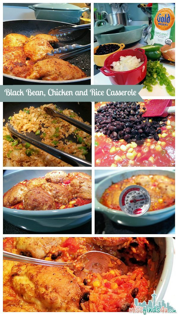 Black Bean and Rice Casserole Recipe