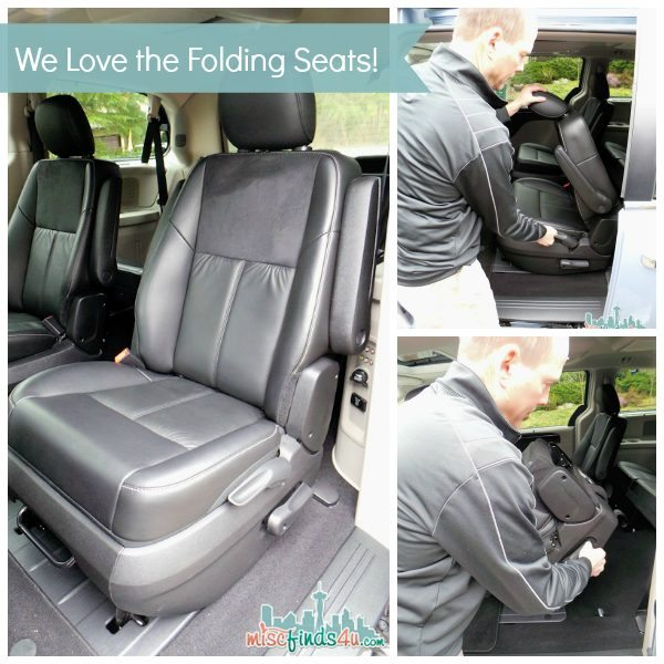 Chrysler Town and Country Stow 'N Go Captain's Seats