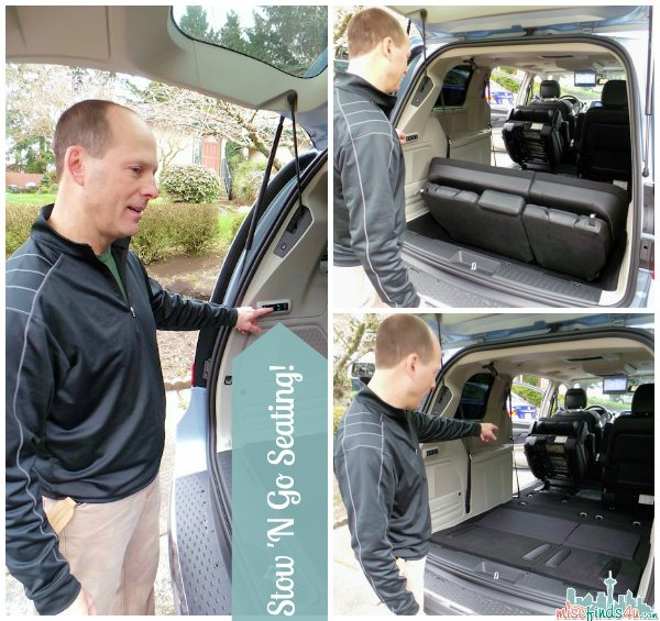 Chrysler Town and Country Electronic Stow N Go Seating