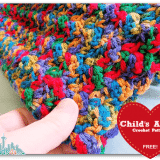 Crochet How To: Free Easy Child Afghan Pattern