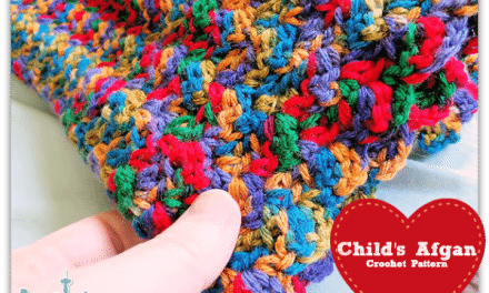 Crochet How To: Free Baby Blanket Afghan Beginner Pattern