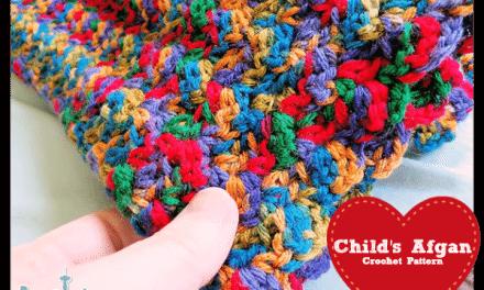 Crochet How To: Free Baby Blanket Afghan Beginner Pattern