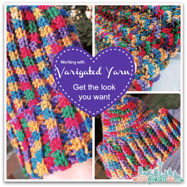 Crochet How To - Working with Variegated Yarns - How to get the look you want