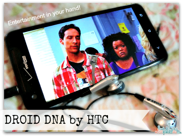 Verizon DROID DNA by HTC - Entertainment in your hand!
