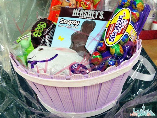 Hershey's Easter Basket - We've all claimed our favorites