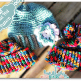 Crochet How To: All of thes hats were made from the same Free Easy Crochet Hat Pattern