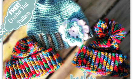 How to Crochet: Free Hat Pattern and Variations