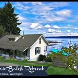 Vacation Rentals in Washington - Historic Balch Retreat Waterfront Home Hood Canal