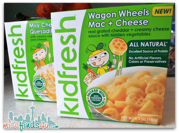 Kidfresh Meals aren't just frozen meals for kids - adults like them too!