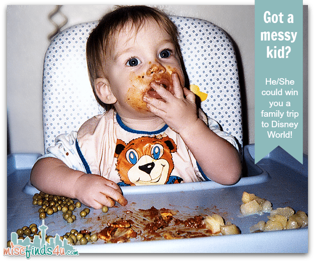 Got a messy kid like our Alex? Enter him/here in the Lysol The Kid Who Touches Everything Contest