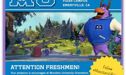 Monsters University Freshmen Orientation!