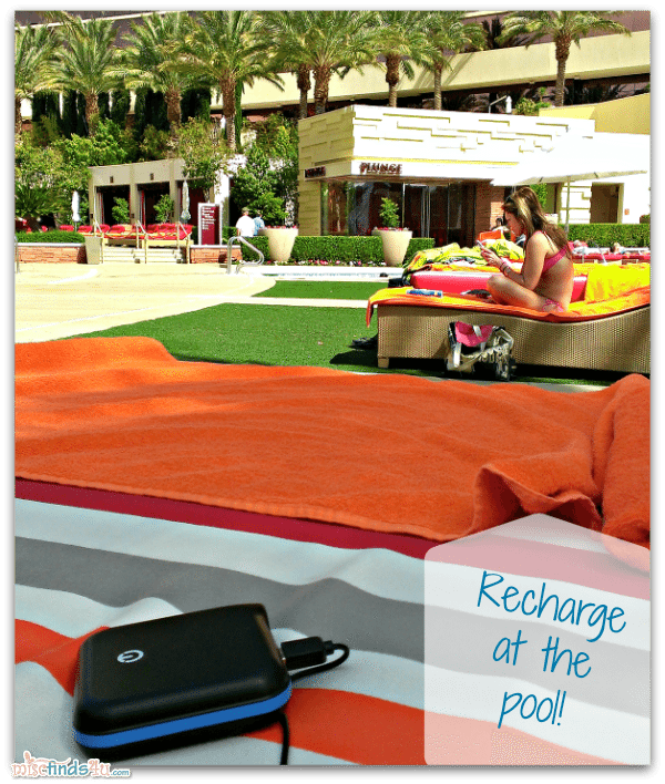 New Trent IMP 120D iCarrier Battery Pack at the Pool