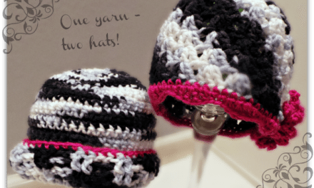 Crochet How To – Working with Variegated Yarns and Free Hat Patterns