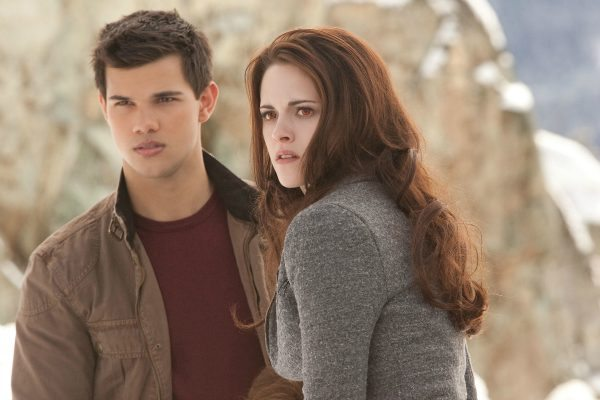 "Taylor Lautner (""Jacob Black"") and Kristen Stewart (""Bella Swan"") star in Summit Entertainment's, a LIONSGATE company, The Twilight Saga: Breaking Dawn - Part 2. Photo: Andrew Cooper, SMPSP"