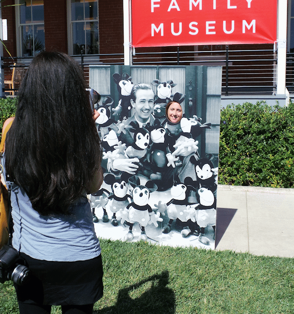 Walt Disney Family Museum – A Step Back in Time #MonstersUEvent Ad