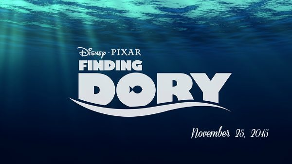 Disney Pixar FINDING DORY in theatres November 25, 2015