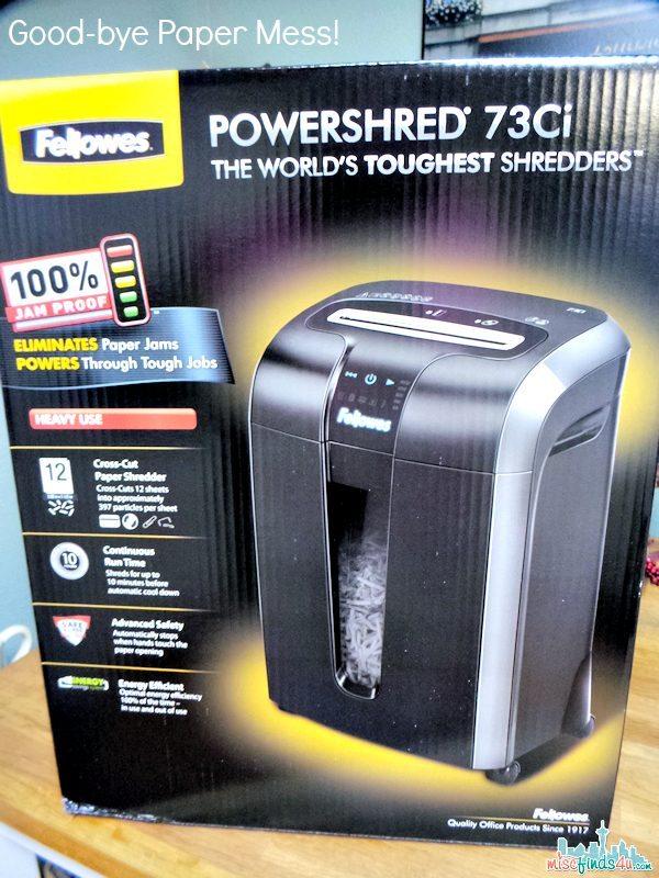 Fellowes Powershred 73C1 Paper Shredder Review