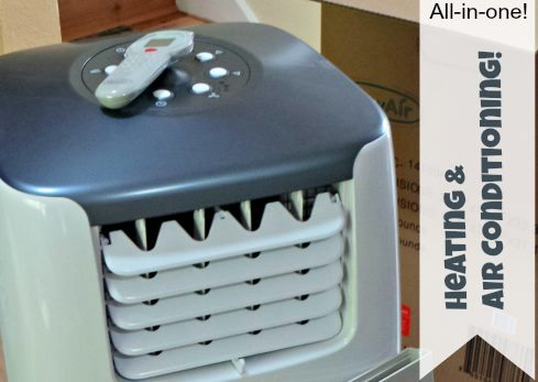 Air Conditioner and Heater – NewAir AC-14100H Portable Air and Heat