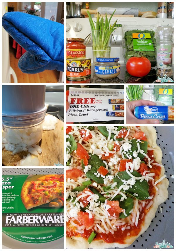 Pillsbury Pizza Dough - quick and easy dinner