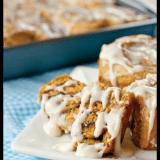 Healthy Pumpkin Cinnamon Roll Recipe