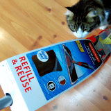 Sam checks out the new Rubbermaid Reveal Spray Mop