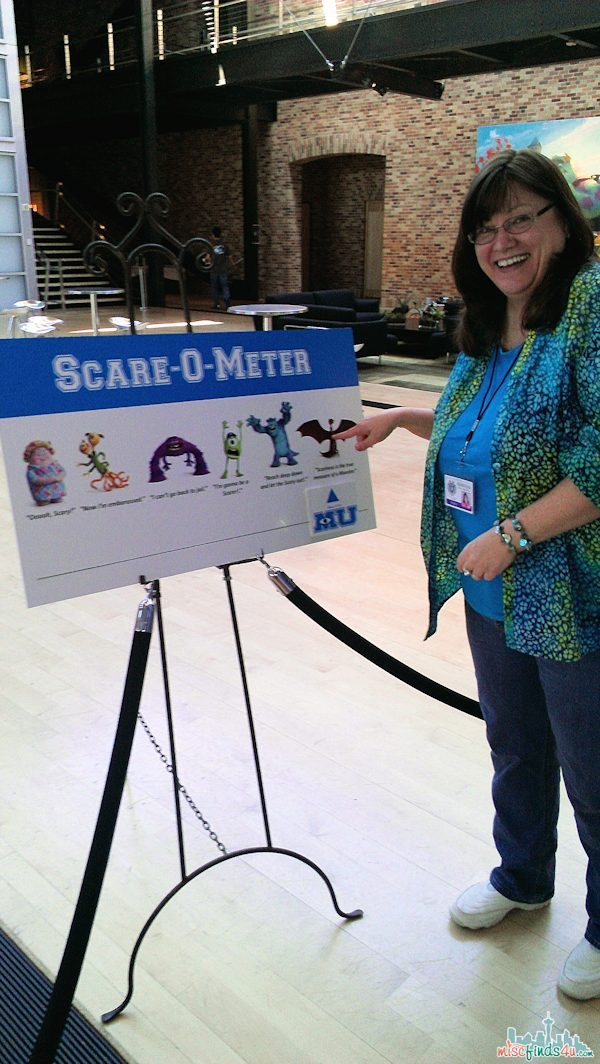 My final - I owned the Scare-o-meter!