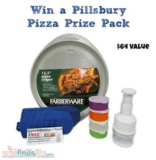 Win a Pillsbury Pizza Prize Pack from MiscFinds4u.com - retail value $64