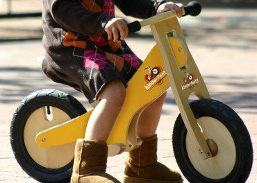Bikes for Toddlers: Kinderfeets – Eco-Friendly Ride for kids ages Ages 2+