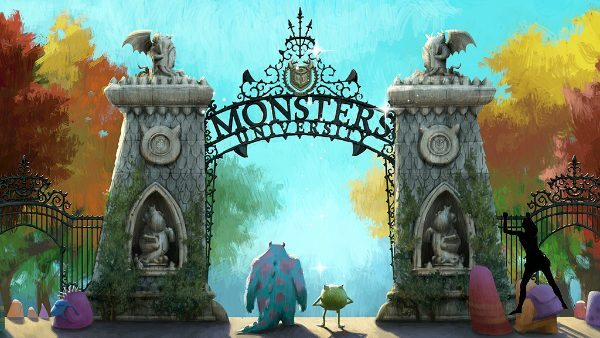 I'm going to be a student of Monsters University .... I may need bail money!