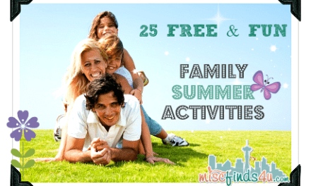 Family: 25 Free Summer Activities for Families