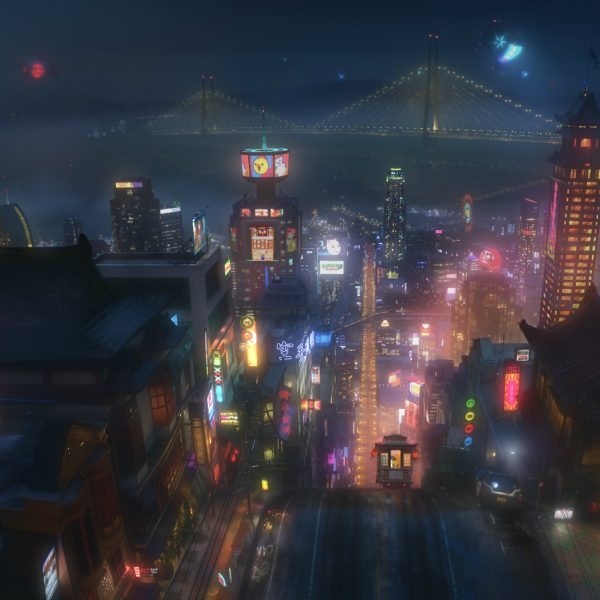 Disney BIG HERO 6 Production Still Closup