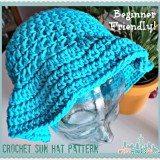 Beginner Crochet Sun Hat Pattern