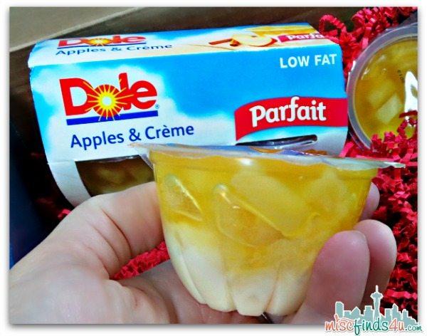 DOLE Apples and Creme Parfait
