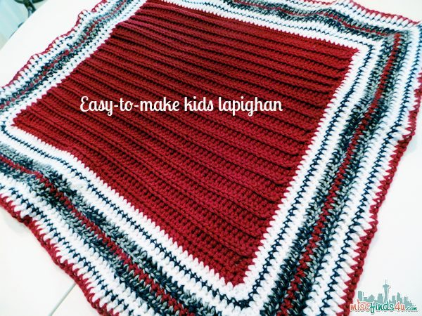 Free Crochet Patterns: Kids Lapighan – Beginner Friendly
