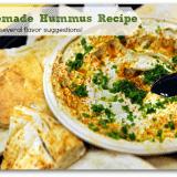 Classic Original Homemade Hummus Recipe