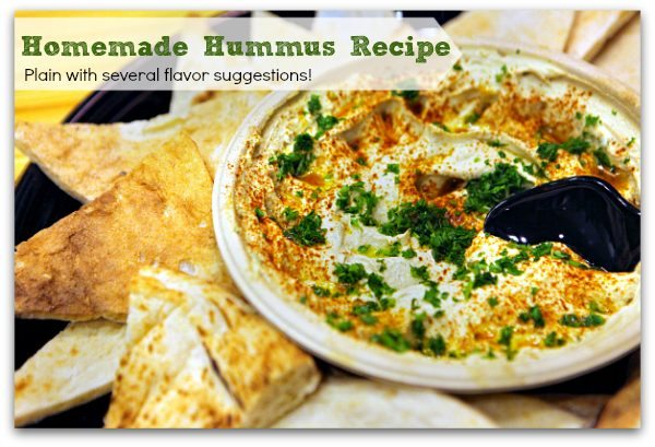Classic Original Homemade Hummus Recipe